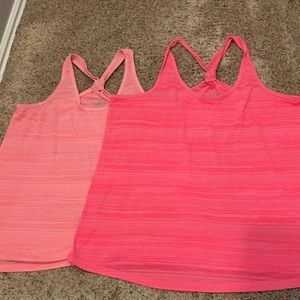 Lot of 2 Old Navy Workout Tanks XLT and XXLT